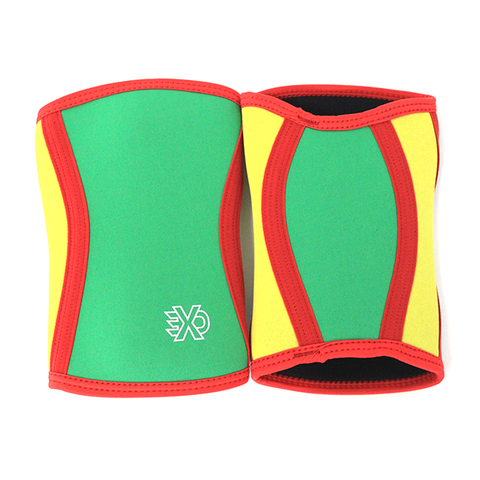 EXO Sleeve Rasta 5mm Knee Sleeve