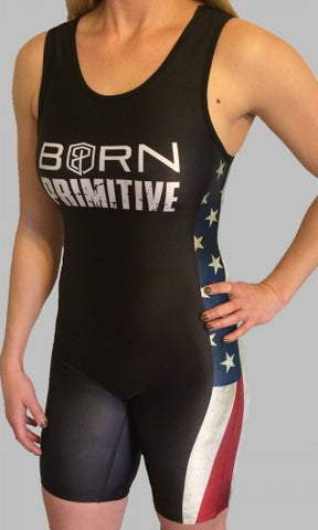 Born Primitive Women's American Patriot Lifting Singlet