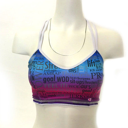 Angel del Mar Motivation Sports Bra