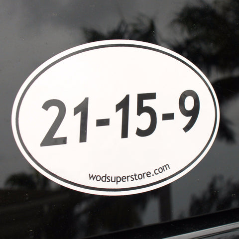 CrossFit bumper sticker