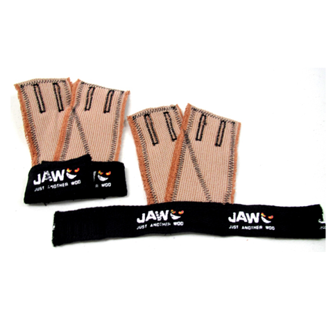 JAW Gloves Black with Black Stitch