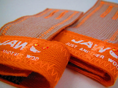 Just Another WOD | JAW  Pullup Grips in Orange