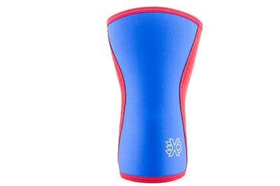 EXO Sleeve Knee Sleeve in Red with Blue