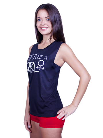 GLOW girl Fitness Lift Like A Girl Tank Top