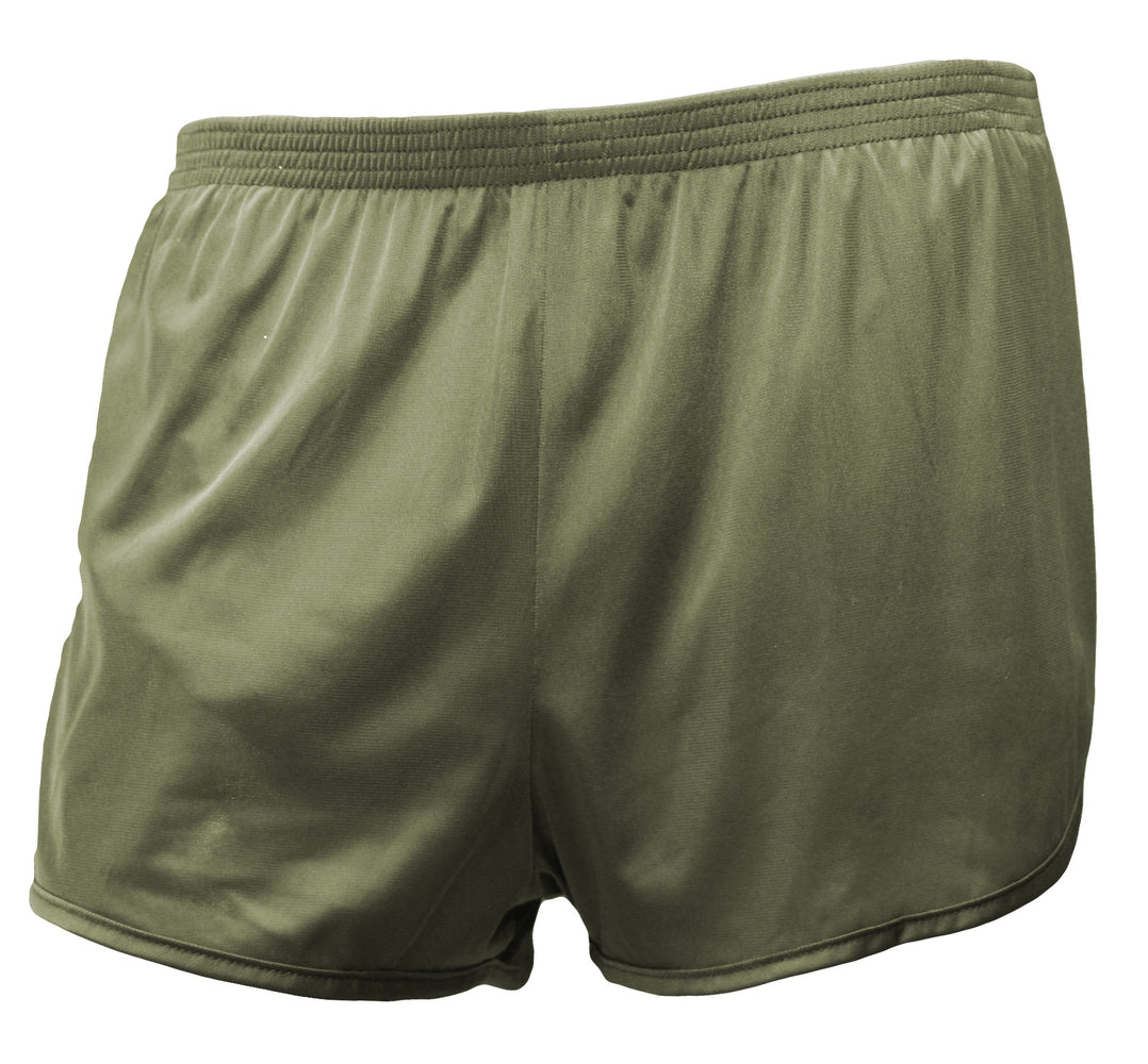 ranger panty panties silkies workout shorts pt military special forces od green