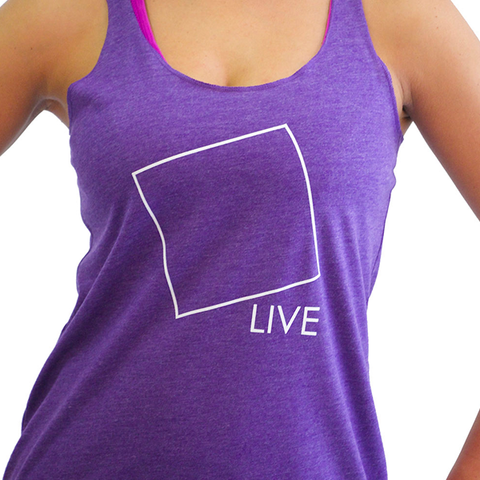 Glow Girl Fitness Live Outside The Box Tank