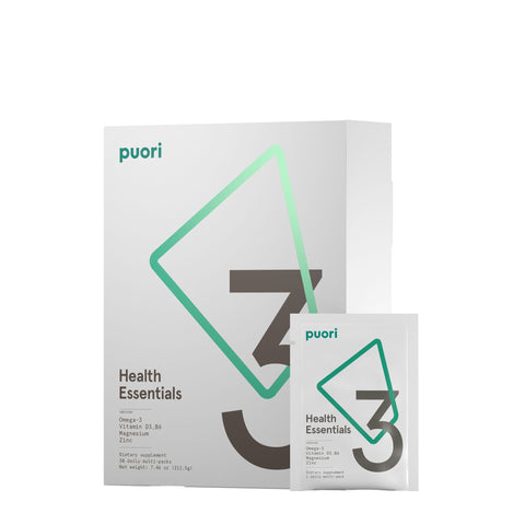 Puori-3 Health Essential Supplement Pack