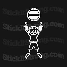 WALL BALL GIRL CROSSFIT BUMPER STICKER