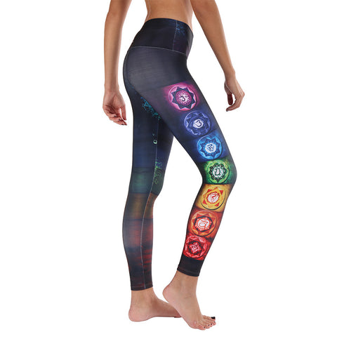 Colorful Chakras Leggings