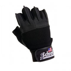 Schiek Platinum Series Lifting Gloves-Black