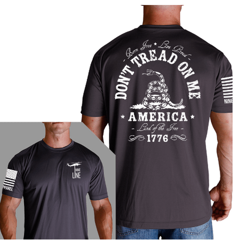 Nine Line Apparel Athletic Tee Don't Tread on Me