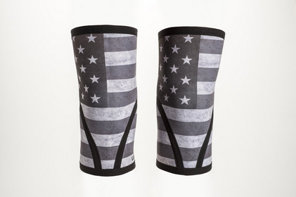 Unbroken Designs Stars and Stripes Knee Sleeves (5mm)