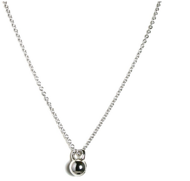 Unbroken Designs Tiny Kettlebell Necklace