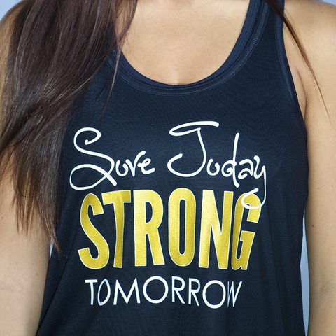 Glow Girl Fitness Sore Today, Strong Tomorrow Tank
