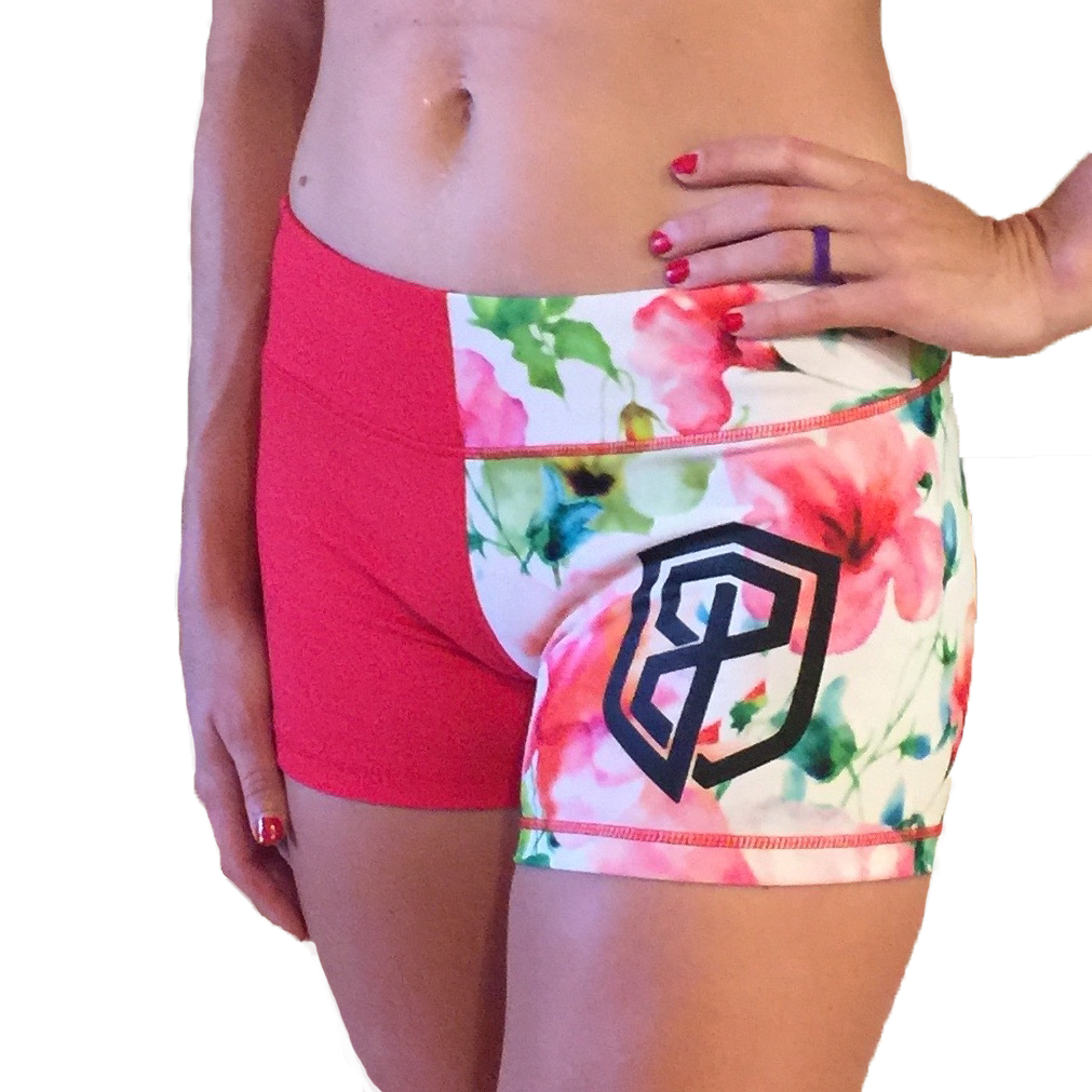 Born Primitive Double Take Booty Shorts (Two Toned Floral)