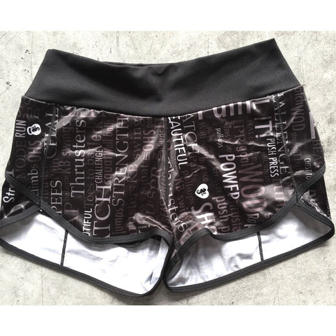 Angel del Mar Motivation Workout Shorts