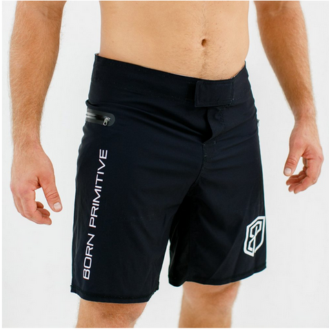Born Primitive American Defender Shorts (Black)