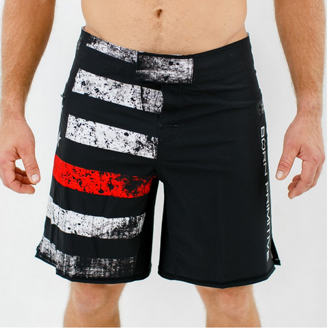 Thin Red Line (Firefighter Edition) American Defender Shorts 2.0