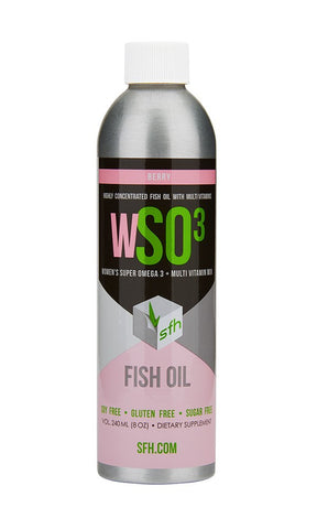 Stronger Faster Healthier WSO3 Omega-3 Oil For Women