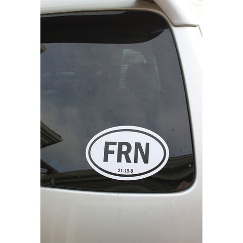 FRN 21-15-9 Bumper Sticker