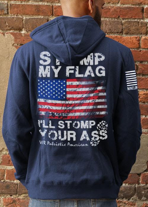 Nine Line Apparel Tailgater Stout Hoodie I'll Stomp You