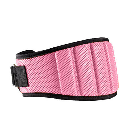 Box Stalker Weight Lifting Belt with Velcro in Pink Back | WODSuperStore.com