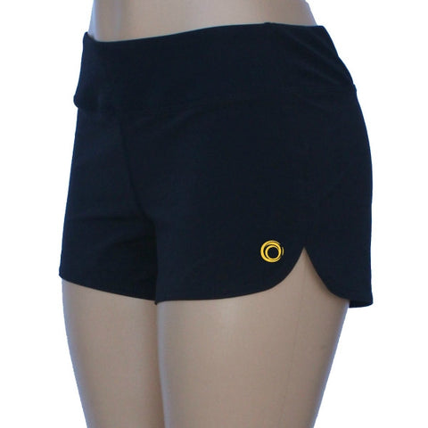 Glow Girl Fitness workout shorts for CrossFit, running, at the gym or casual athletic wear. Shorts are lightweight and comfortable work out clothes.