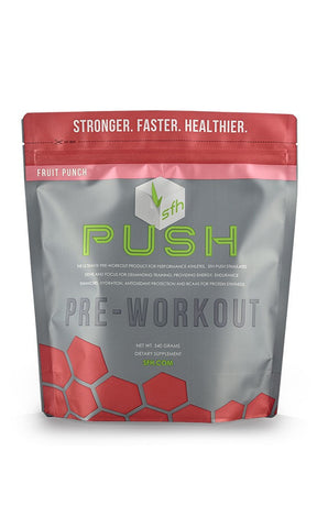 Stronger Faster Healthier Push Pre-Workout