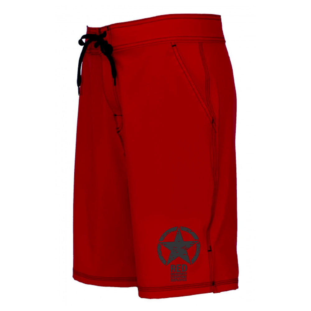 RED-Remember Everyone Deployed Workout Shorts