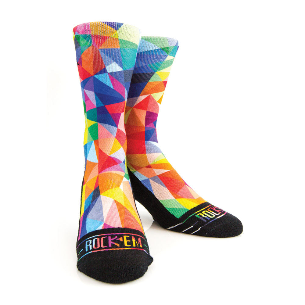 Rock 'Em Apparel Prism Socks