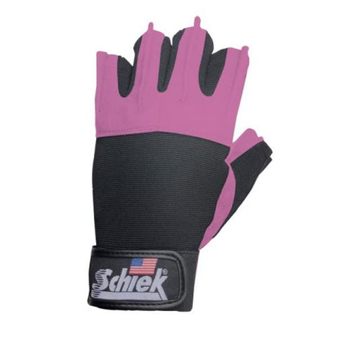 Schiek Platinum Series Lifting Gloves-Pink
