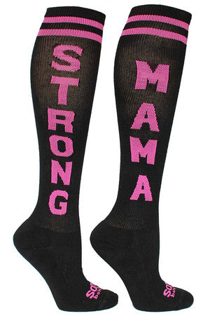 Sox Box Strong Mama WOD Socks