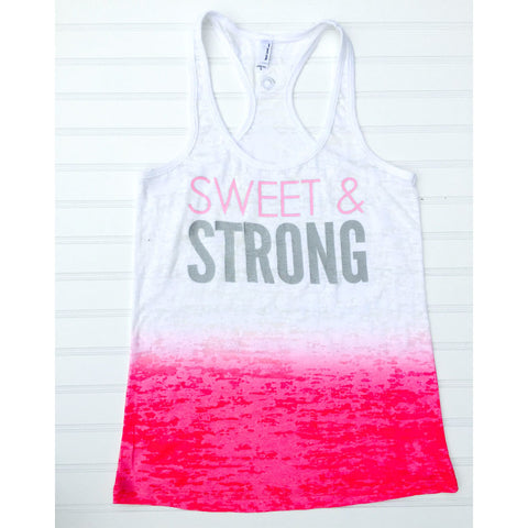 GLOW girl Fitness Strong & Sweet Tank