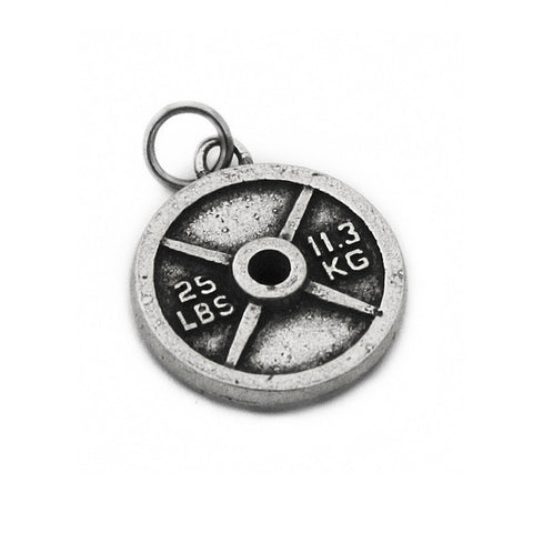 Fashletics 25lb Weight Plate Charm