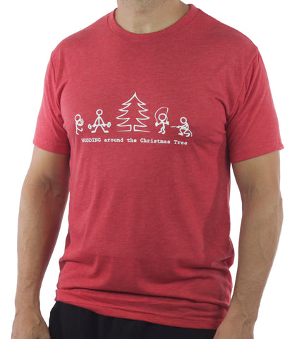 Wodding Around the Christmas Tree Shirt