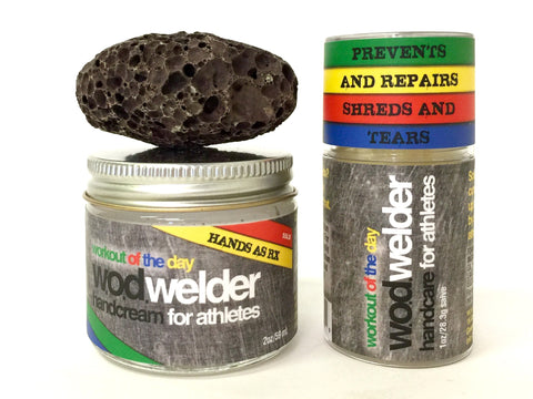 wod welder handcare kit creme pumice salve for torn and ripped crossit hands and palms