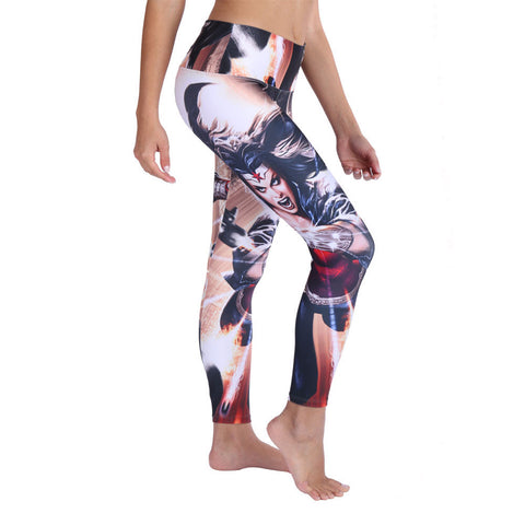 Wonder Woman Fierce Leggings & Capris