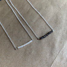 Load image into Gallery viewer, Lustre Bar Necklace | Silver