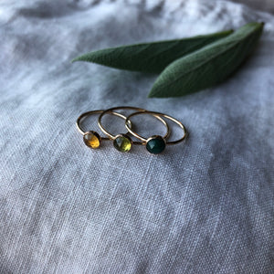 Birthstone Ring - October | Opal