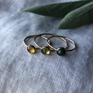 Birthstone Ring - August | Peridot