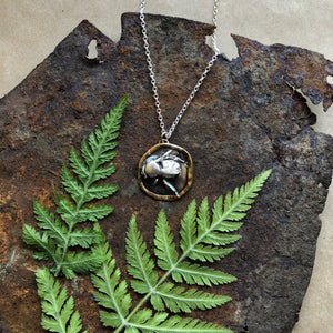 Moonlit Bumble Necklace