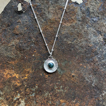 Load image into Gallery viewer, Silver Soleil Necklace | Emerald