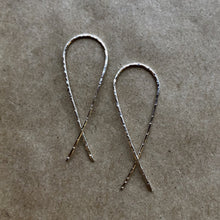 Load image into Gallery viewer, Silver - Threader Earrings