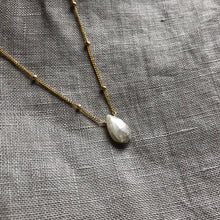 Load image into Gallery viewer, White Sapphire - Linnaea Necklace