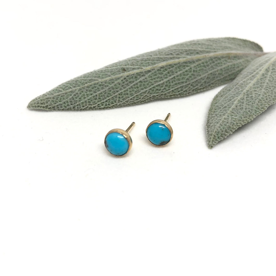 Turquoise - Chai Studs