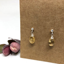 Load image into Gallery viewer, Citrine - Linnaea Earrings