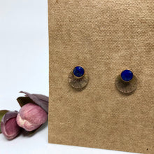 Load image into Gallery viewer, Lapis Lazuli - Mandala Studs