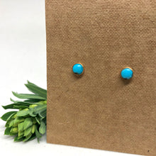 Load image into Gallery viewer, Turquoise - Chai Studs