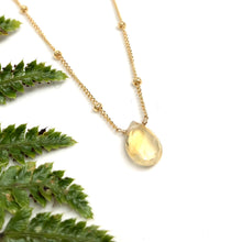 Load image into Gallery viewer, Citrine - Linnaea Necklace