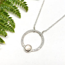 Load image into Gallery viewer, Rainbow Moonstone - Jupiter Necklace